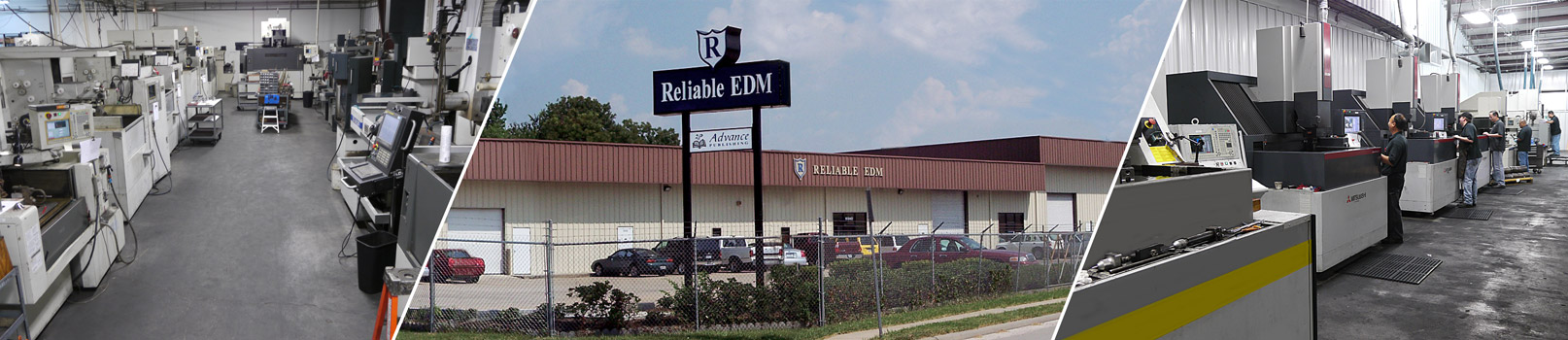 Thinking EDM? Think Reliable. The EDM Specialists!