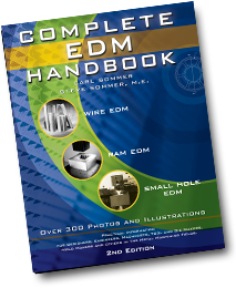 Free Complete EDM Handbook by owners of the largest EDM job shop in North America
